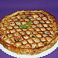 Tourte provençale aux légumes et au poulet