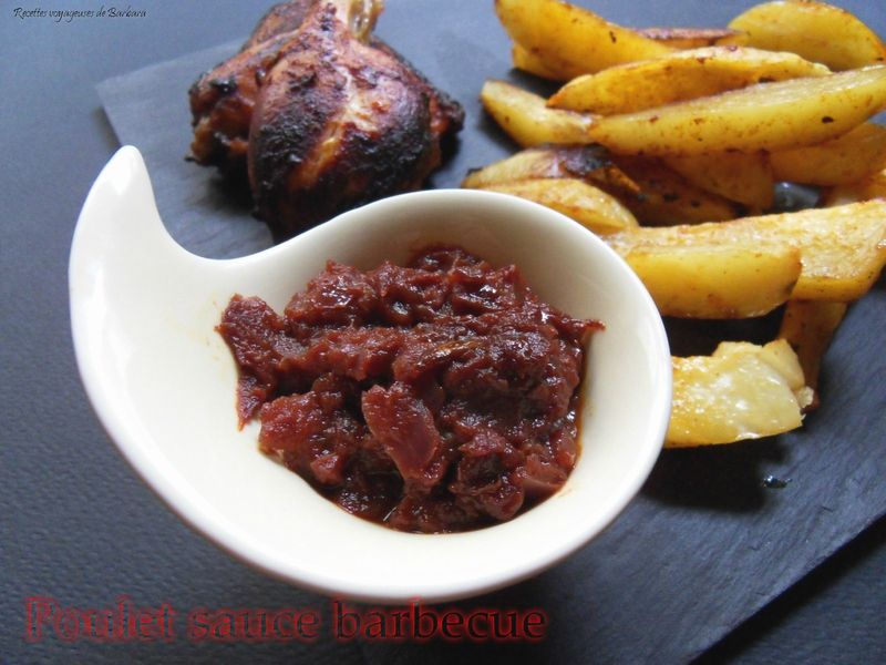 poulet sauce barbecue3