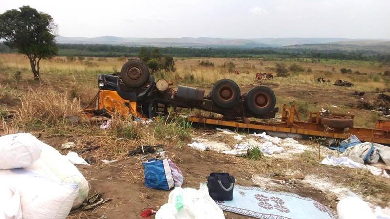accident de circulation Ekoti ya Monseigneur