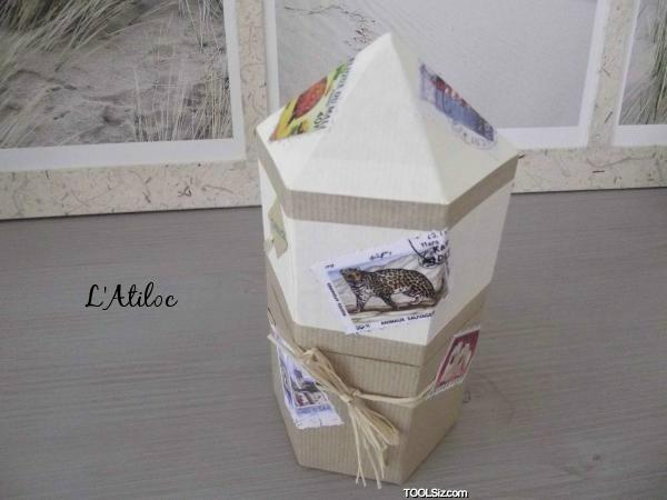 L 39 habillage en papier kraft cartonnage tr sors for Comment faire une boite en carton creteil