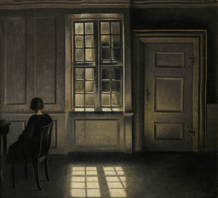 Sotheby's to sell one of Vilhelm Hammershøi's most beguiling interiors: 'Interior, Strandgade 30'