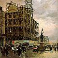 Les impressionnistes et les ruines de paris (1871-1883)