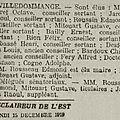 1919 30 novembre et 07 décembre : elections municipales