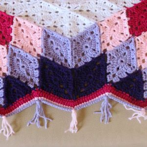 Prairie Star Afghan Bordure