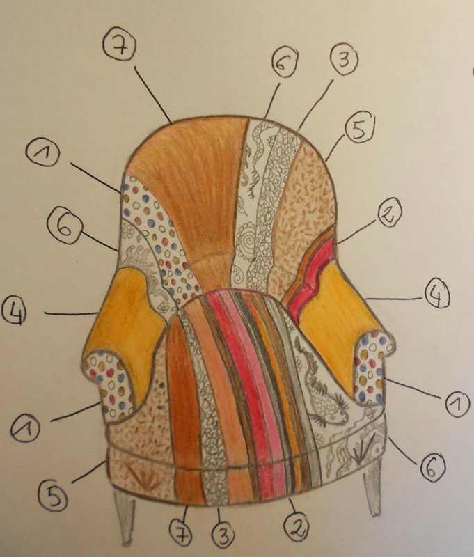 dessin fauteuil 2