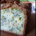 Cake tout vert - roquette, basilic, pesto
