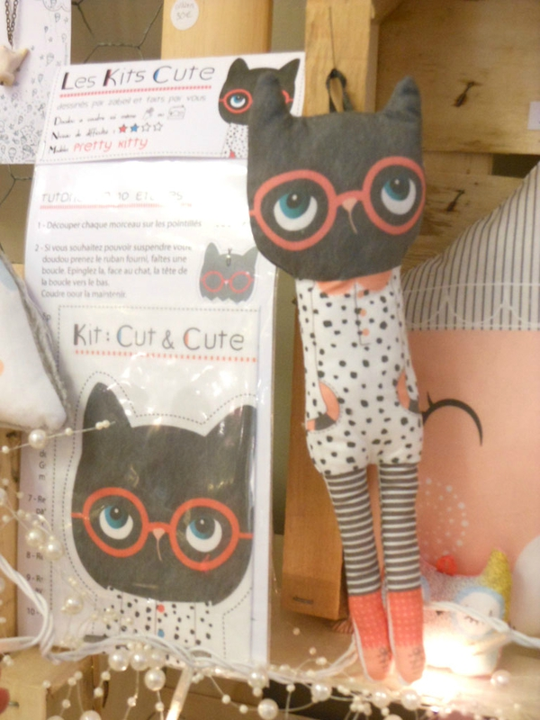 Doudou KIT CUTE-pretty kitty-zabeil