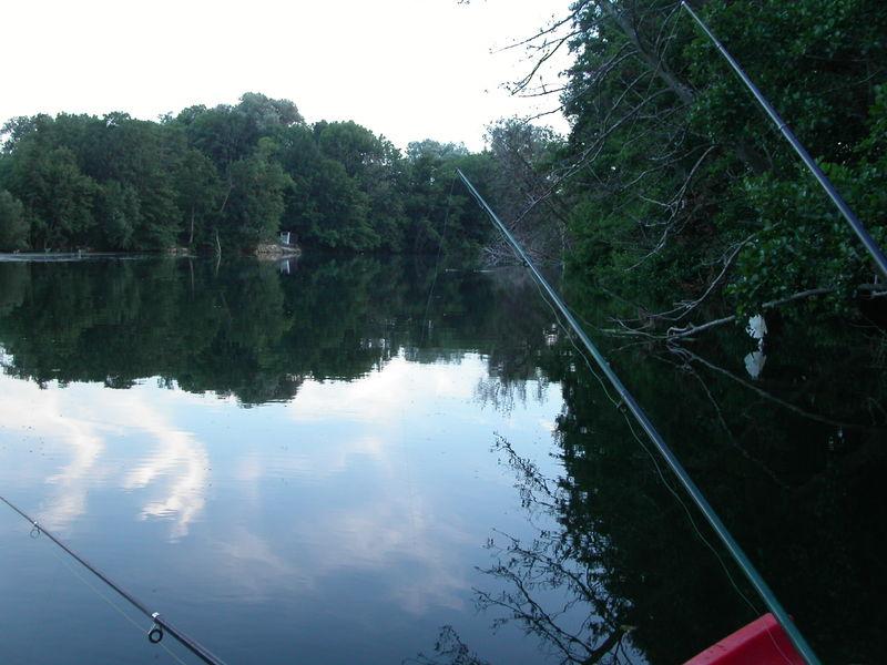 En bateau sur l'Yonne