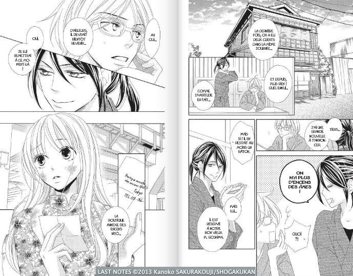 Last Notes Kanoko Sakurakouji tome 01 Pika édition shôjo romance scan 02