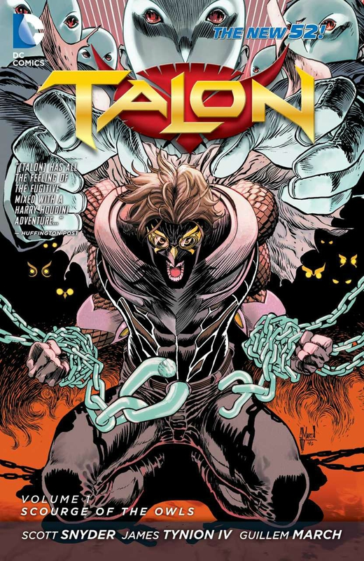 new 52 talon vol 1 scourge of the owls TP