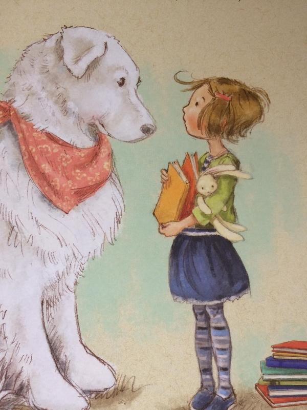 le chien de la bibliotheque 4