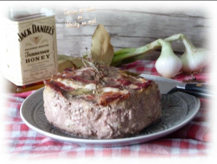"""ღ """" Miam """" Terrine de Veau au Whisky au miel"""
