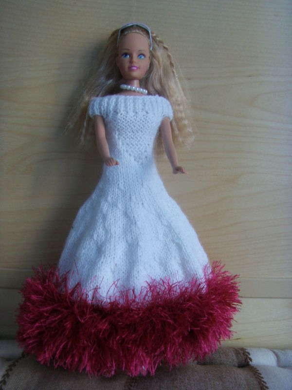 Comment tricoter robe barbie - Barbi gratuit ...