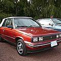 Renault - amc alliance dl 1.7l cabriolet 1985