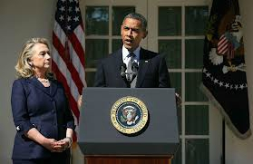 Hillary Clinton and Barack Obama White House 2012