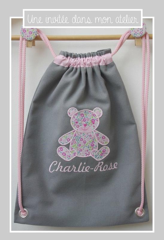 sac à dos petit format-personnalisé-Liberty fairford rose