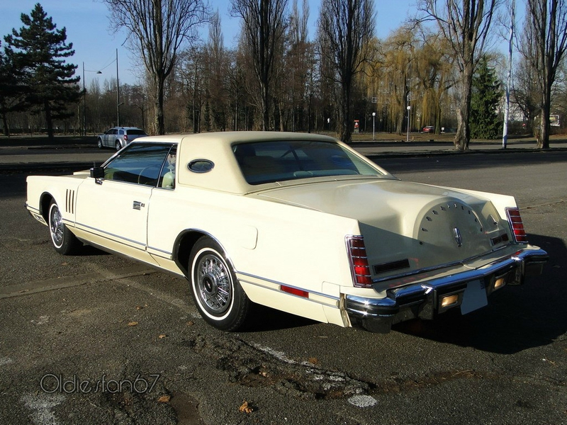 LINCOLN Continental Mark V Hardtop Coupe 1977 1979 b
