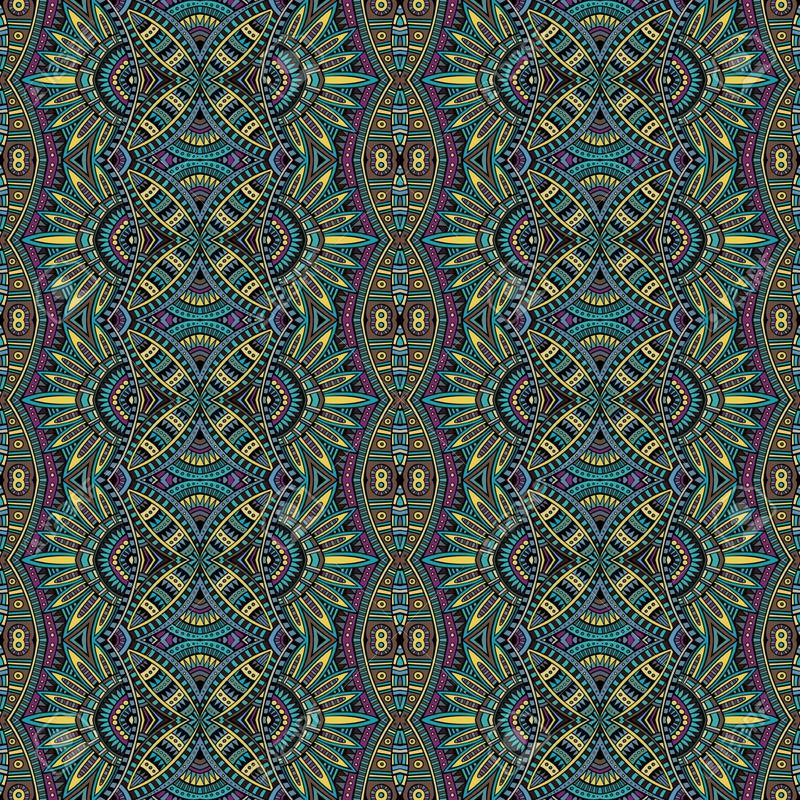 29984197-R-sum-tribal-motif-ethnique-homog-ne-Banque-d'images