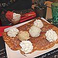 Crêpe dessert aux Sables d'Olonne, avril 2012.