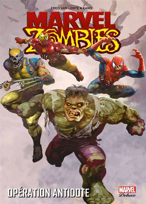 marvel deluxe marvel zombies 3 opération antidote