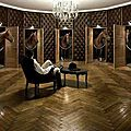 Les lustres participent au luxe...
