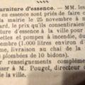 Dans le panier des potins, en 1928,1930 ....
