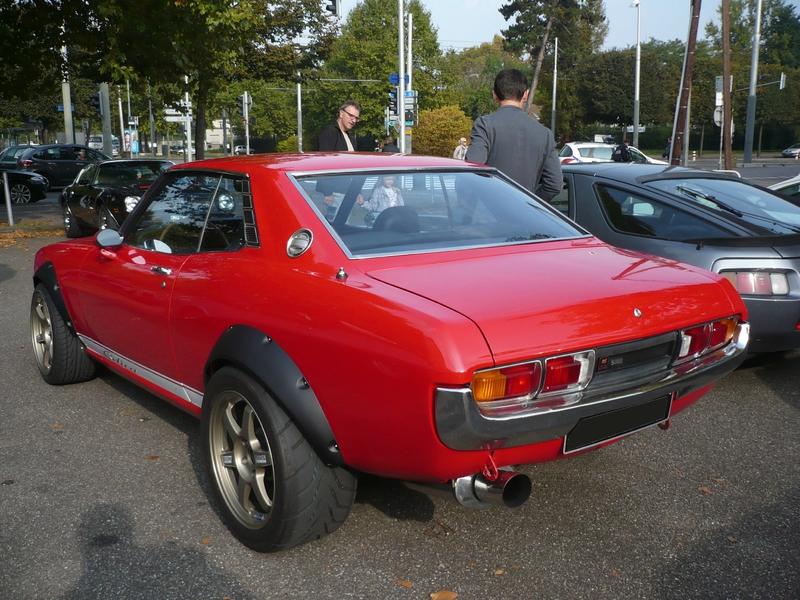 TOYOTA Celica coupé 1ère génération Strasbourg (2)