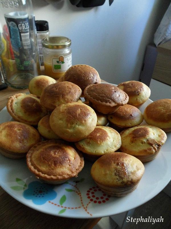 Muffins pépites choco et coeur caramel - 2
