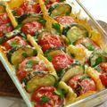 Gratin de légumes léger et ensoleillé