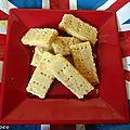 Shortbreads ( sables ecossais ) de jamie oliver