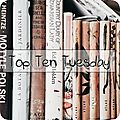 Top ten tuesday # 80