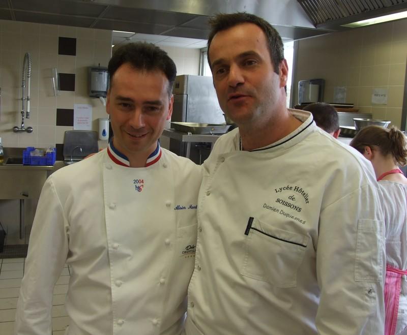 Alain Montigny, chef étoilé du Dolce et Chef Damien