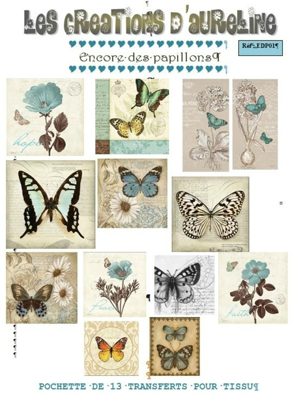 encore des papillons