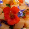 Melon aux capucines