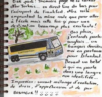 projet cinqui mes page de carnet de voyage les mots comme des fleurs ii. Black Bedroom Furniture Sets. Home Design Ideas