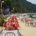 Notre plage, Coral Bay