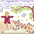 Les oiseaux du Ciel... Eté