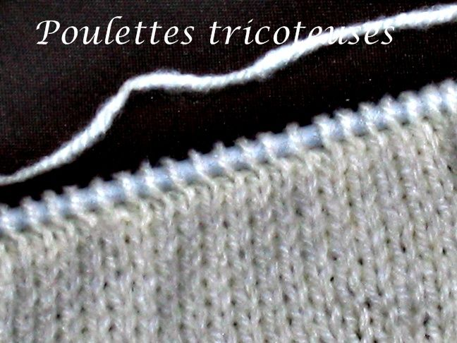 tuto tricot point jersey