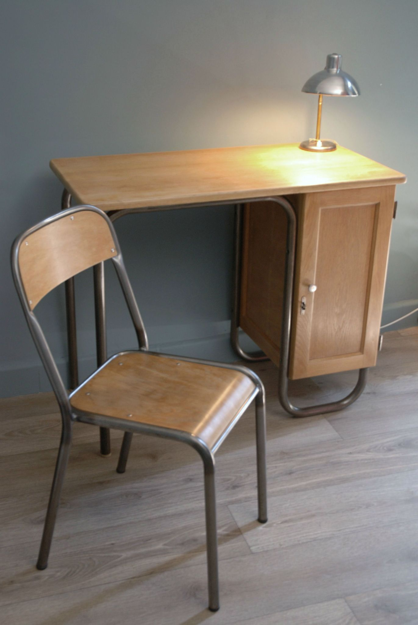 Table Rabattable Cuisine Paris Chaise De Bureau Vintage
