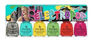 China Glaze ElectroPop 6 piece image Brights