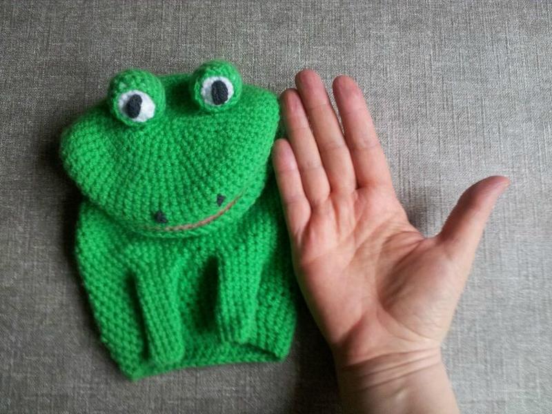 grenouille vert vif 5