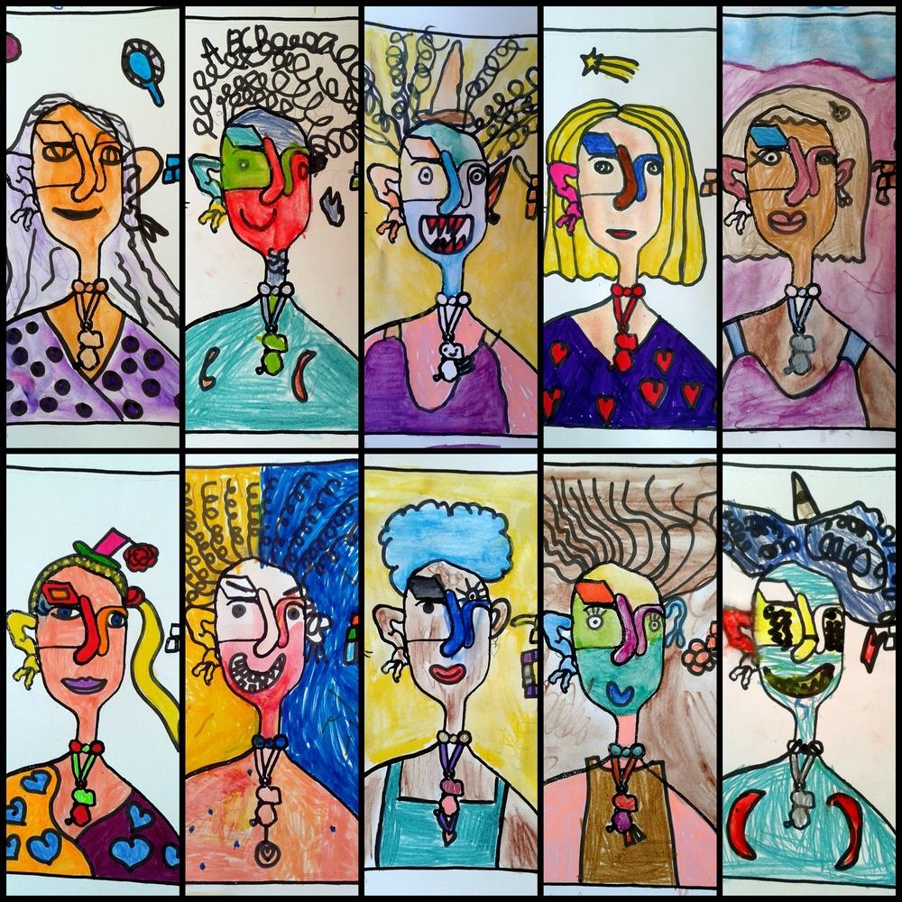 Bien connu ISOLER + TRANSFORMER : Portraits imaginaires - Le tour de ma classe DI33