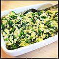 Risotto tout vert aux légumes et parmesan ! [sev]
