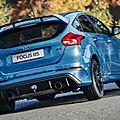 La ford focus rs500 proposera-t-elle plus de puissance ?