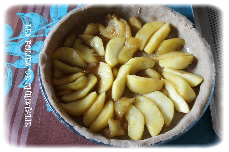 Tarte aux pommes SSG 2