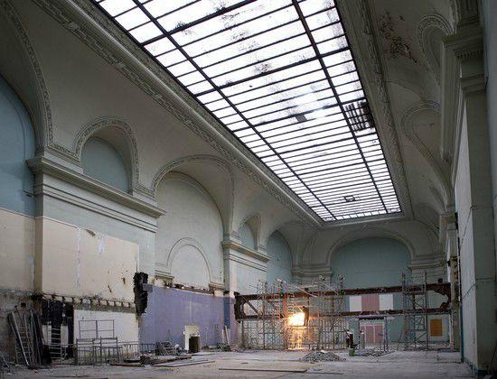 R novation du grand palais salon d 39 honneur paristeampunk for Salon d honneur grand palais