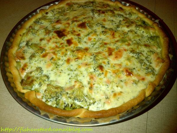 Quiche saumon-brocolis-boursin (6)