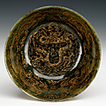 Jade bowl, china, 18th century
