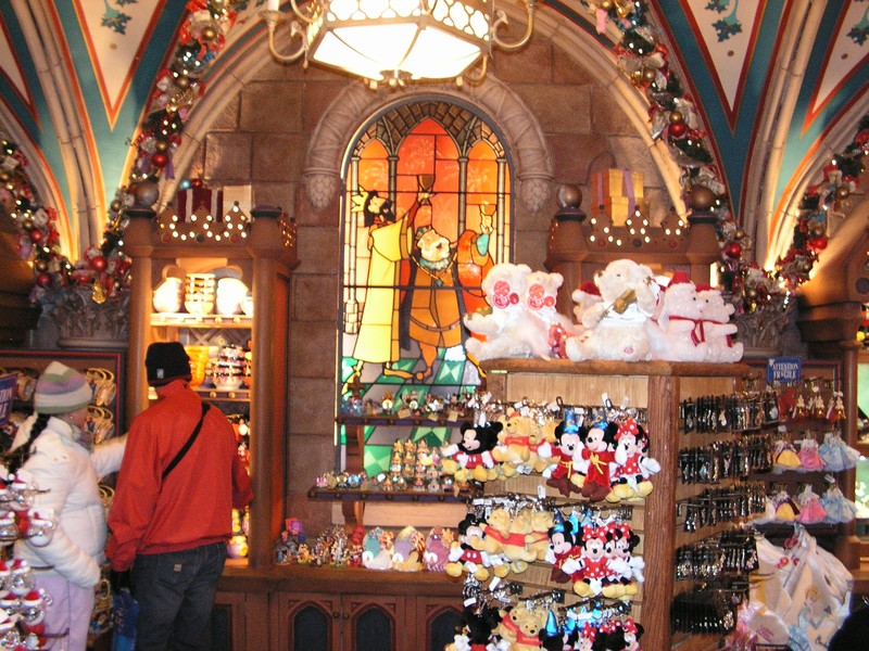 Plus de shopping matinal disneyland paris disneyland paris bons plans - Magasin deco noel paris ...
