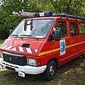 RENAULT Trafic T1000 GTS VTU pompiers de Cocheren 1984 Hambach (1)